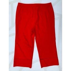 Boden Pants - Boden Hambledon Crop Wide Leg Pants Red Pop 16